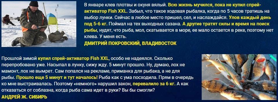 Активатор клева Fish XXL