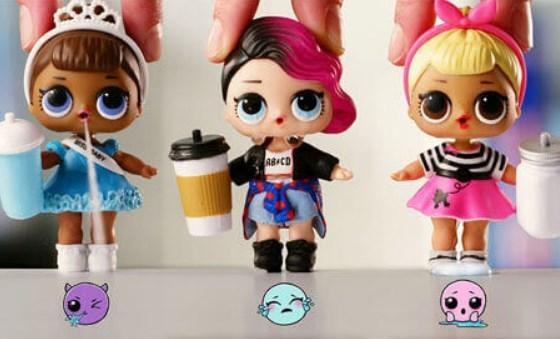 Набор кукол в шарике lol surprise