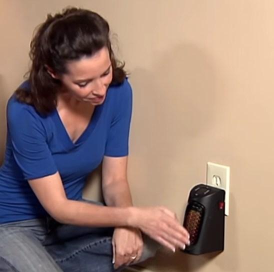Портативный обогреватель handy heater