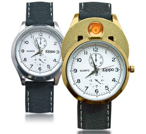 Часы зажигалка Zippo